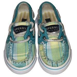 Sperry Plaid Bahama Boat Shoes